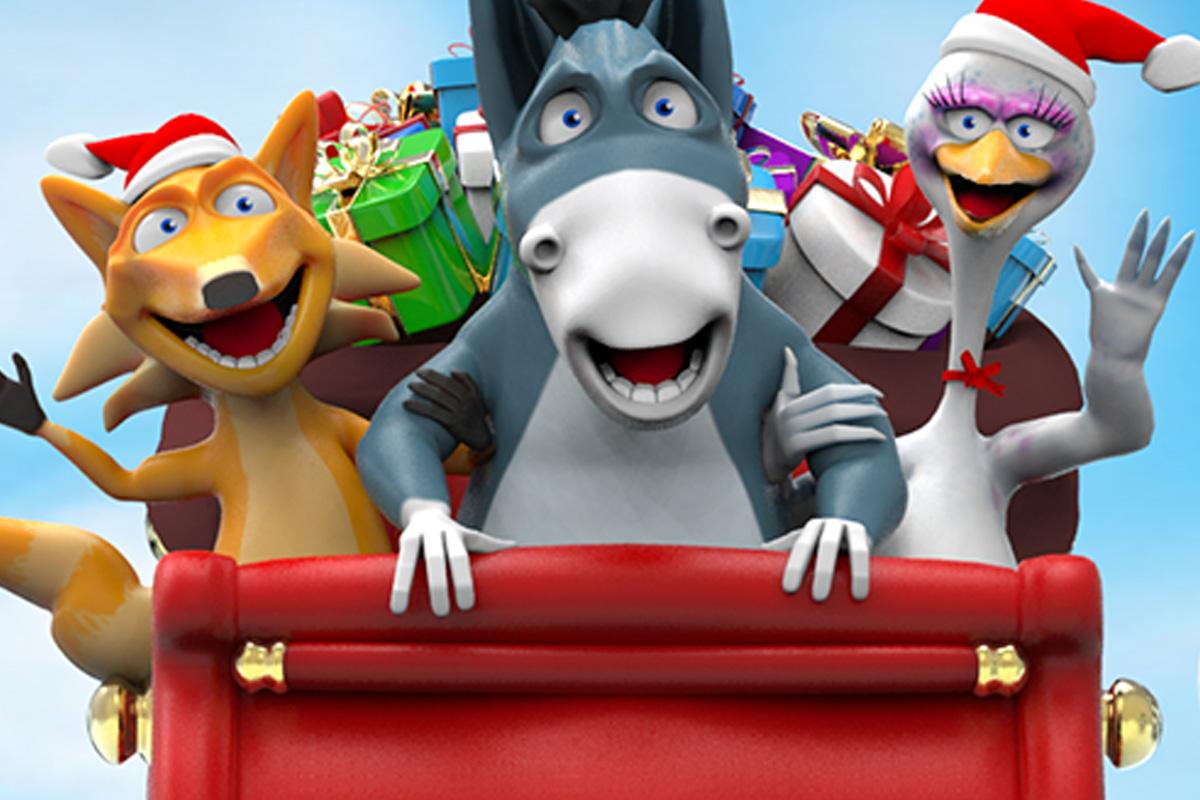 Karakter design Don Donkey